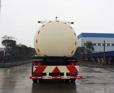 东风天锦粉粒物料运输车后部图片