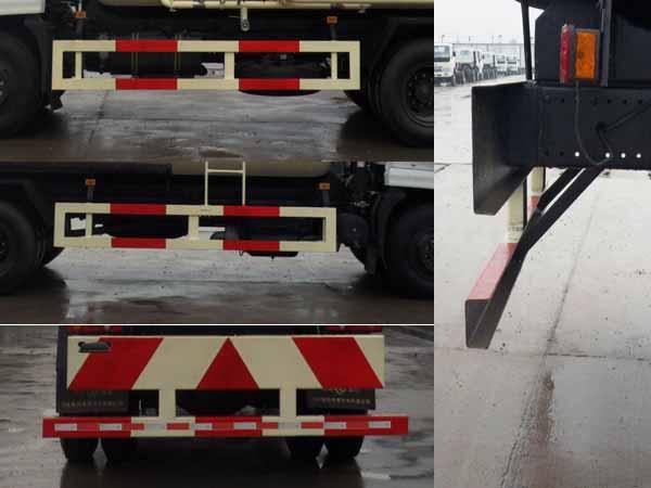 东风天锦粉粒物料运输车四侧防护装置图片