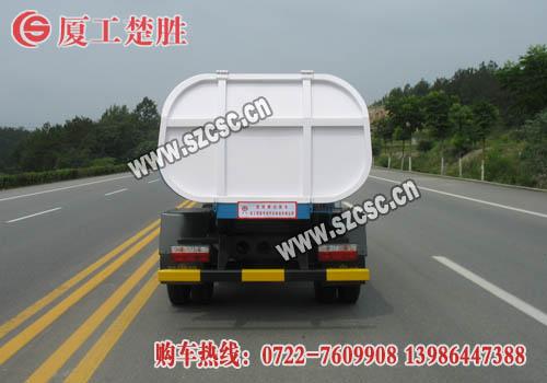东风(锐铃)挂桶垃圾车后部图片
